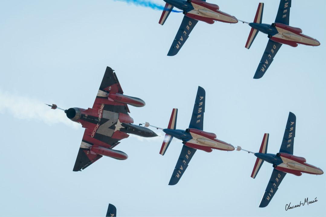 Patrouille de France et Mirage 2000 N