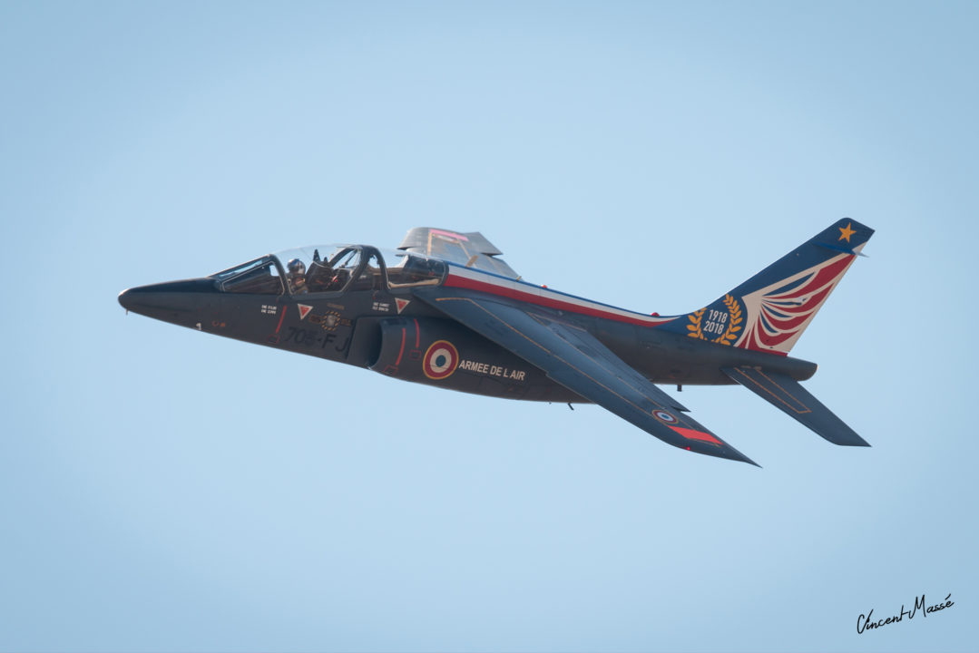 Alphajet Solo Display