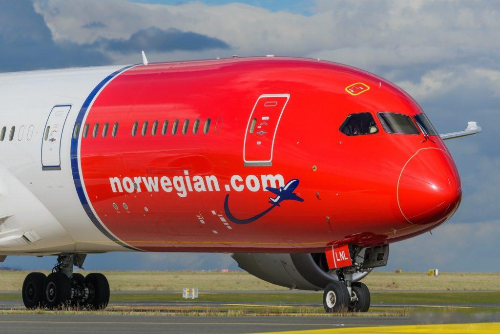"""Boeing 787-9 Dreamliner Norwegian """"Kirsten Flagstad"""" LN-LNL"""