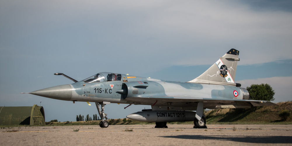 Mirage 2000 RDI Dassault Aviation - BA 1015 Orange - Juin 2018