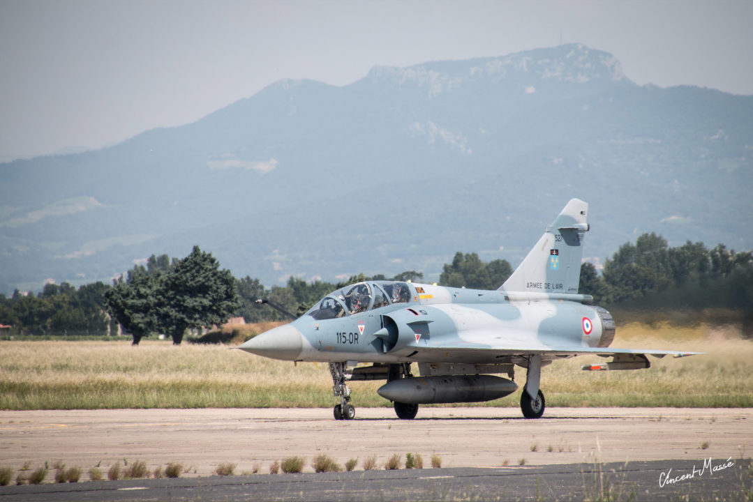 Mirage 2000 RDI Dassault Aviation - BA 1015 Orange - Juin 2018