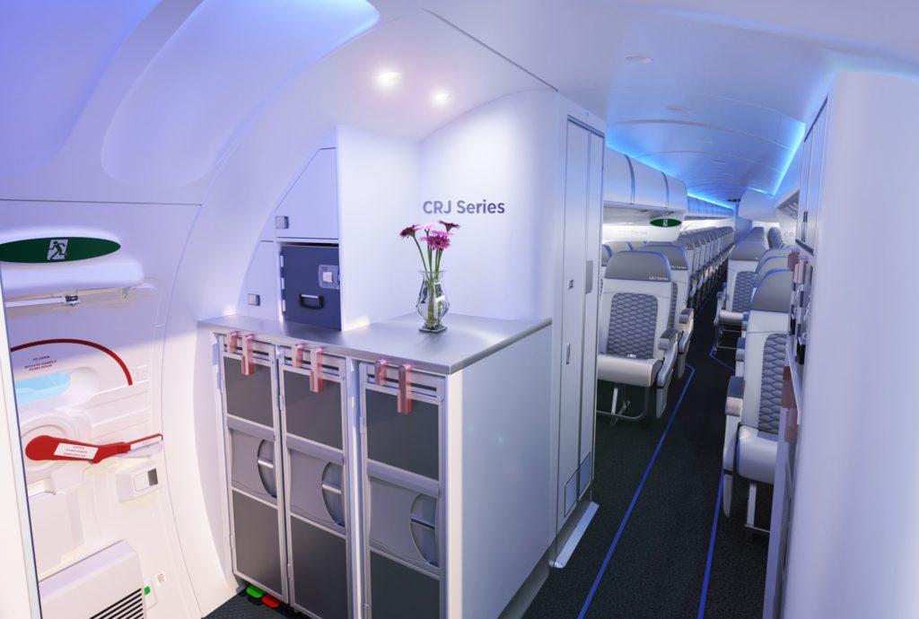 La nouvelle cabineATMOSPHÈRE propose un confort et une expérience passagers améliorés