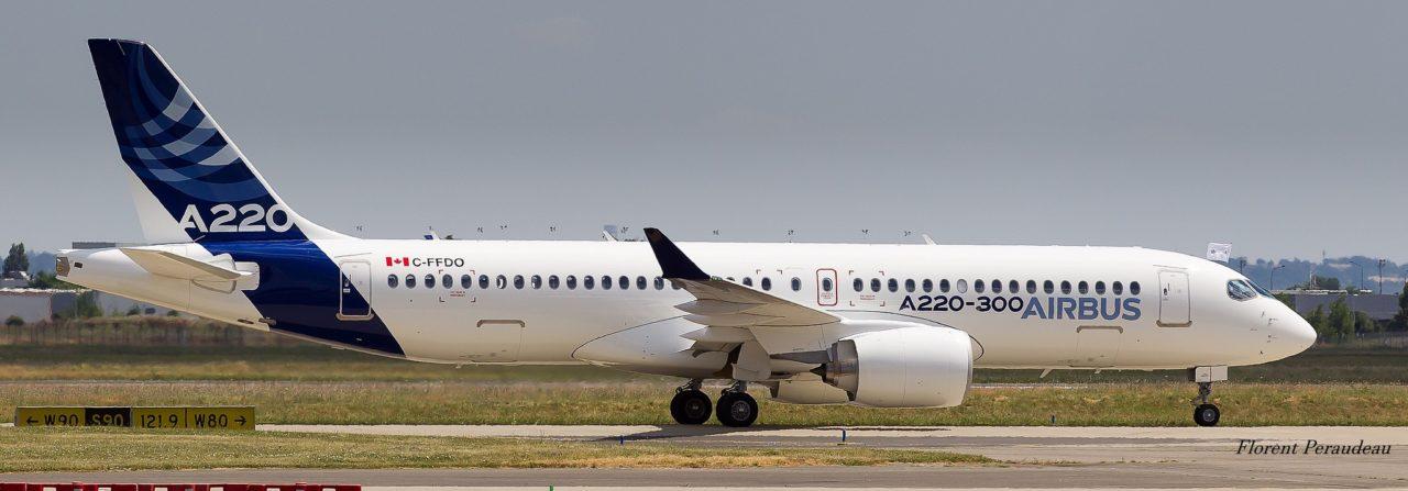 C-FFDO Airbus Industrie Airbus A220-300 MSN 55002