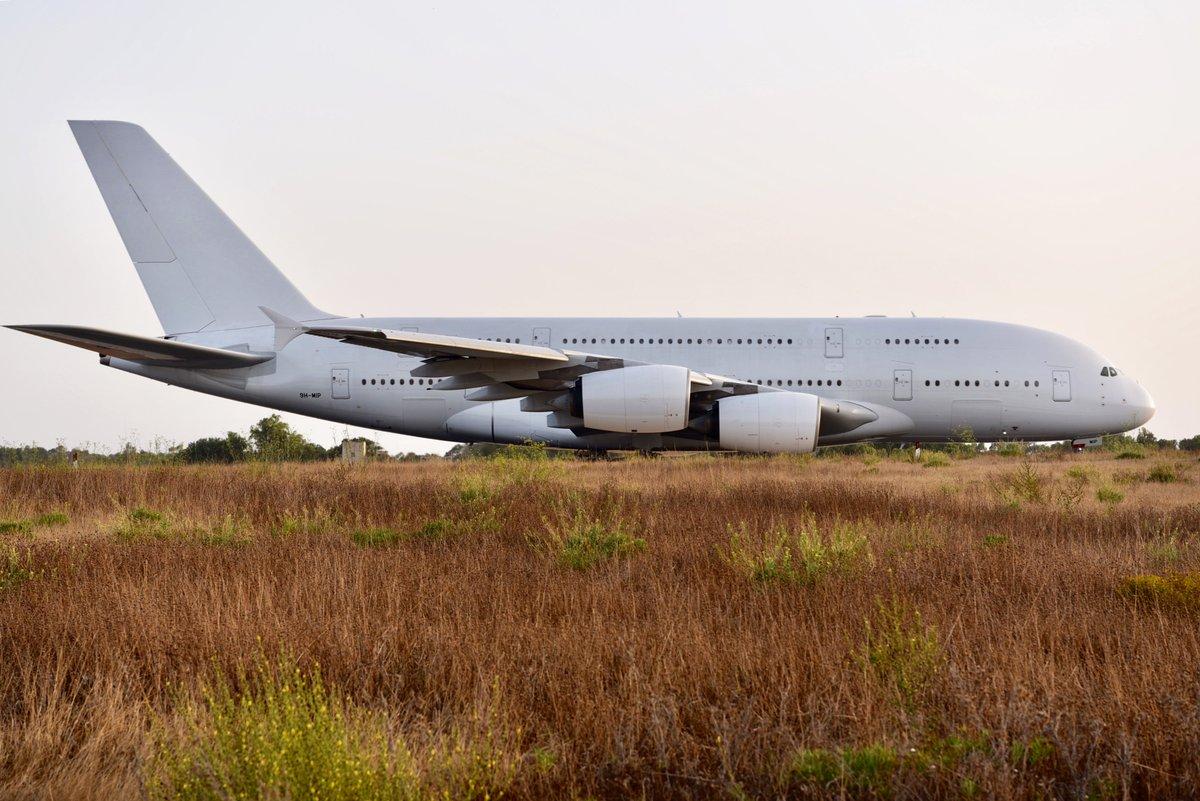 A380 HiFly Malta / 9H-MIP