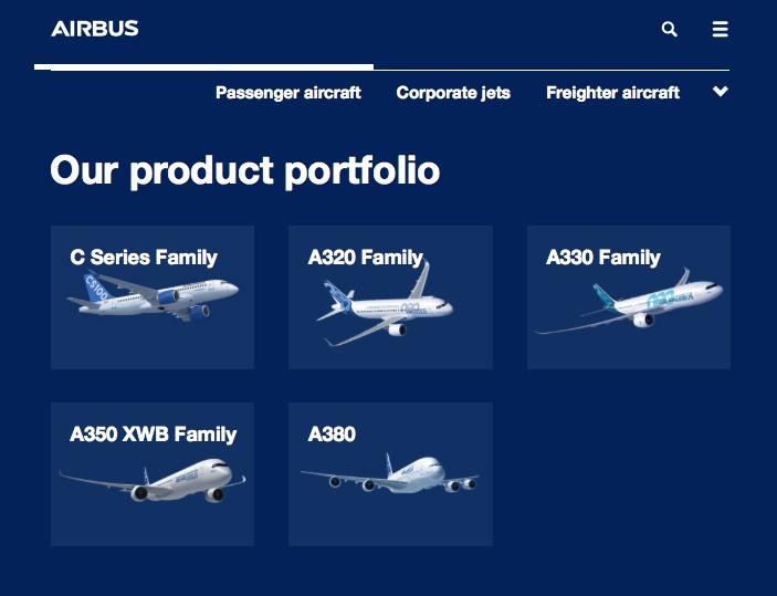 site Airbus
