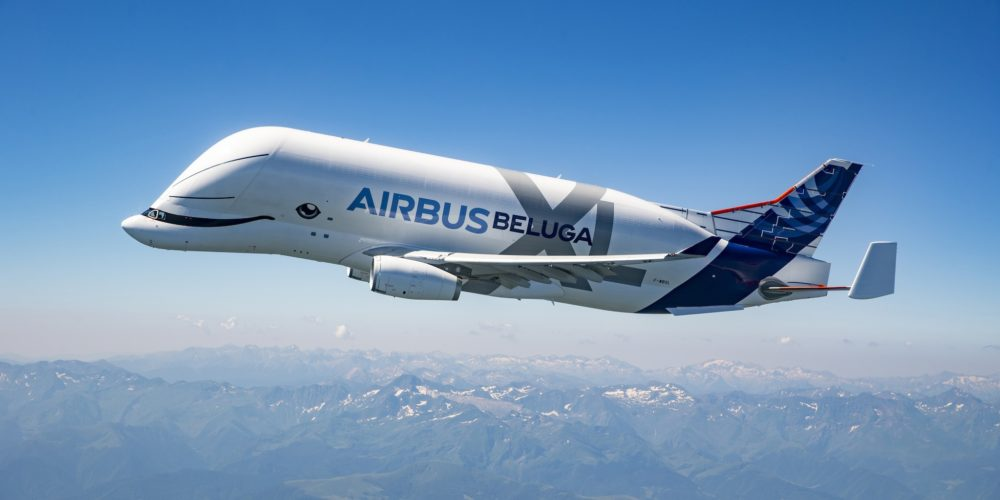 1er vol Airbus BelugaXL F-WBXL
