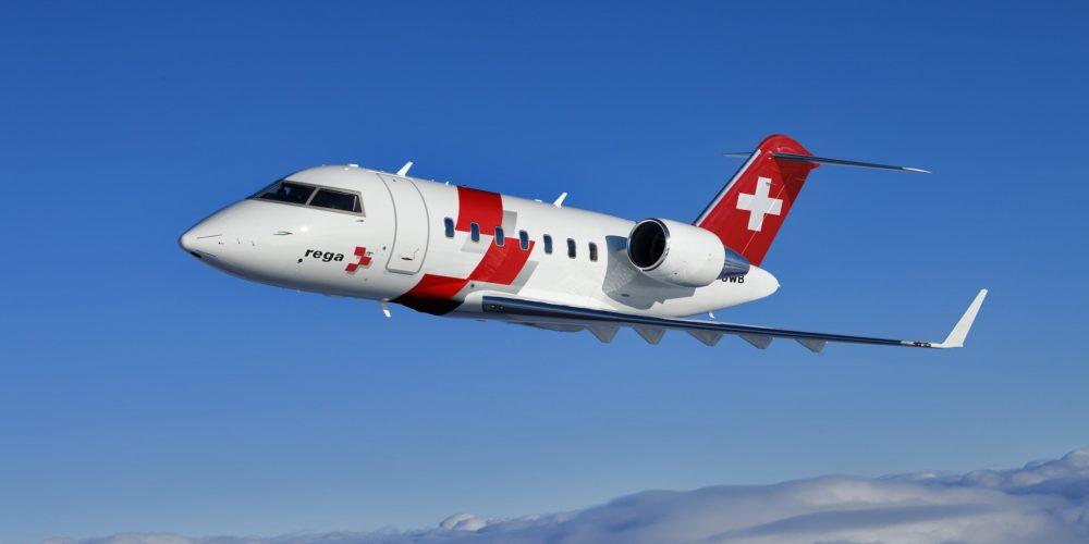 Swiss Air-Rescue Rega Bombardier Challenger 650