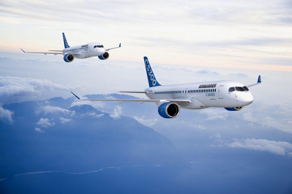 CS100 et CS300 en vol