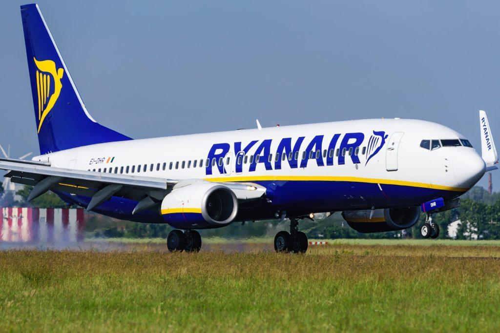 Boeing 738 Ryanair