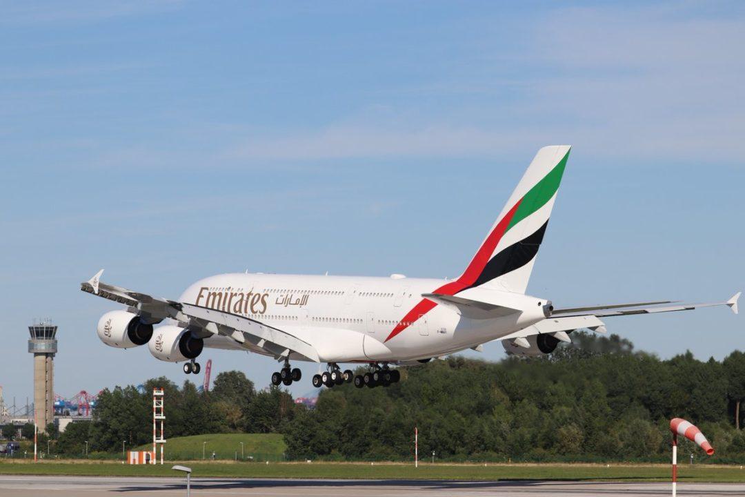 A380 Emirates A6-EUU