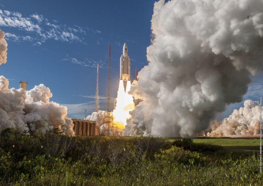 Décollage Ariane 5 - VA244 le 25 juillet 2018