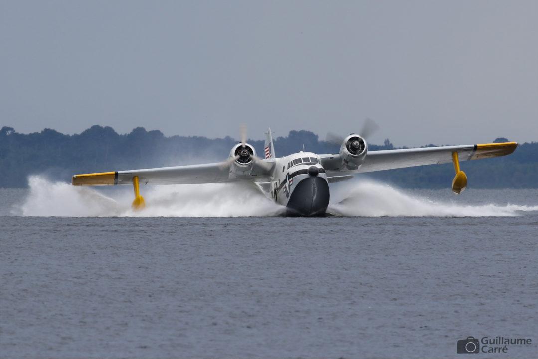 Grumman Albatross au meeting aérien de Biscarrosse