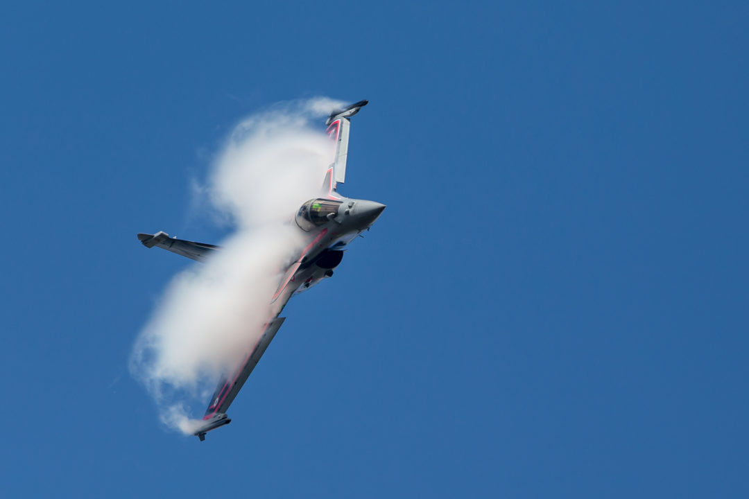 Rafale solo display au meeting de Muret