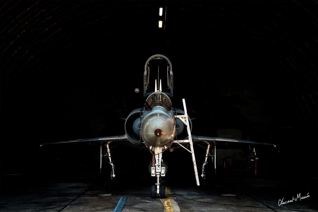 Mirage 2000C lors de l'anniversaire de la SPA 124 à Orange