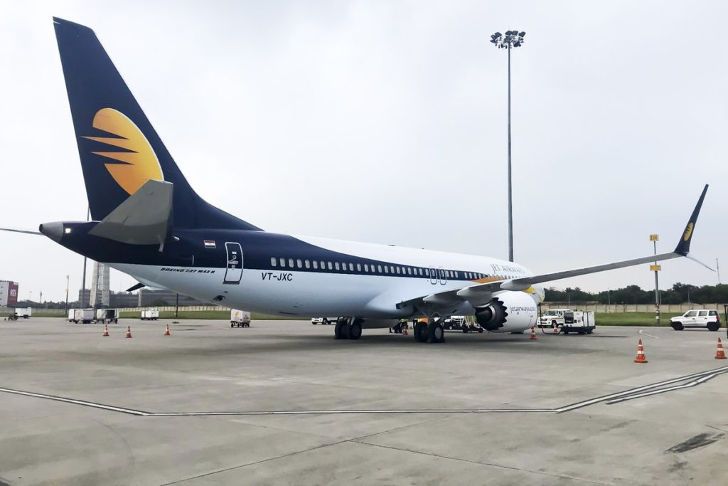 B737 MAX 8 Jet Airways