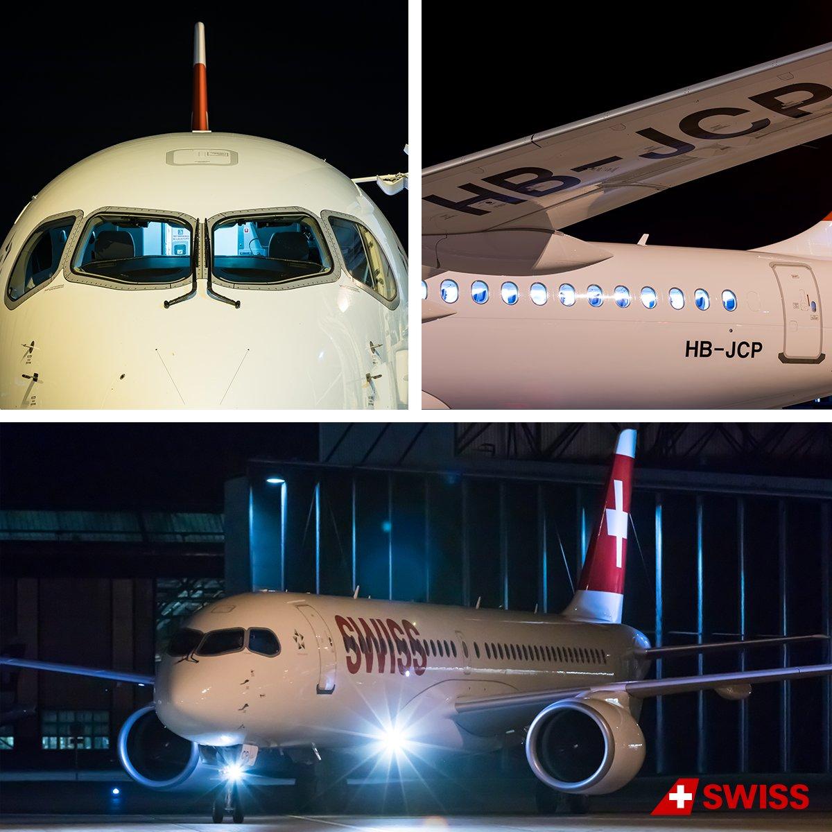 [HB-JCP] un A220-300 SWISS qui sera basé à Zurich