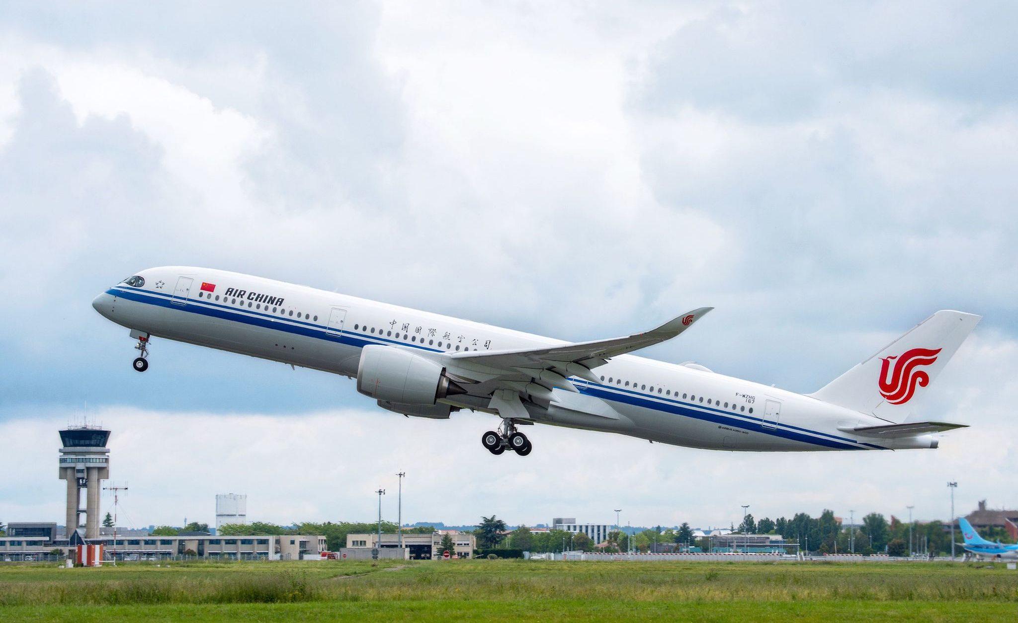 A350-900 [msn 167] Air China