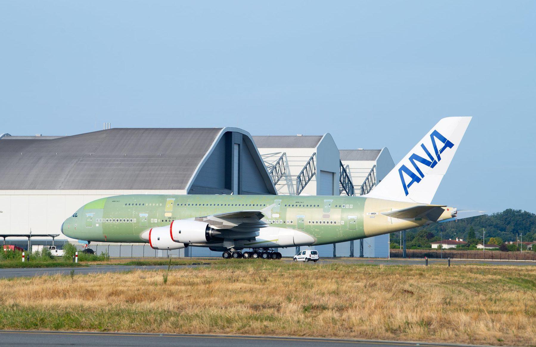 MSN262 - Le 1er A380 destiné à ANA