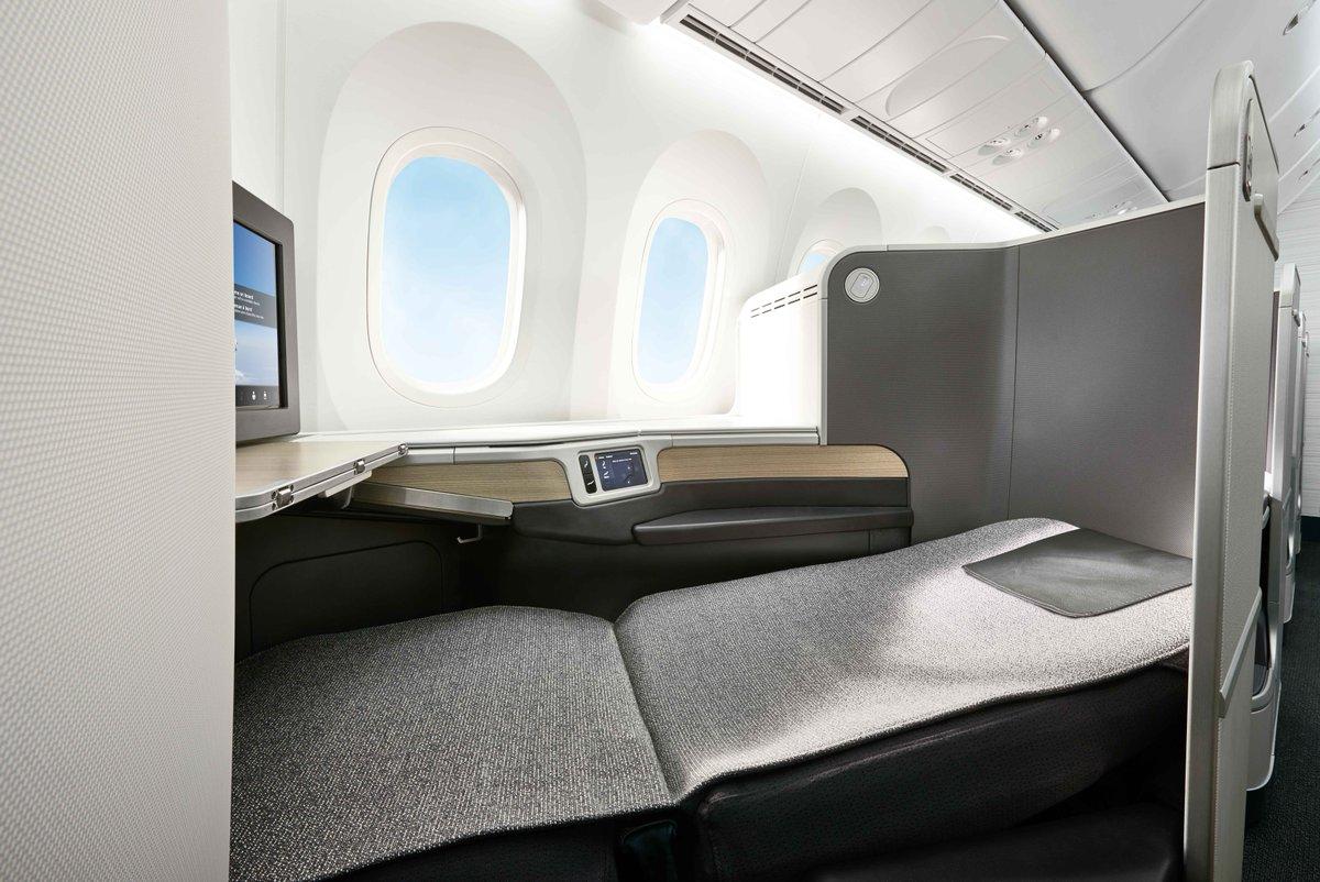 Siège business Boeing 787 Air Canada