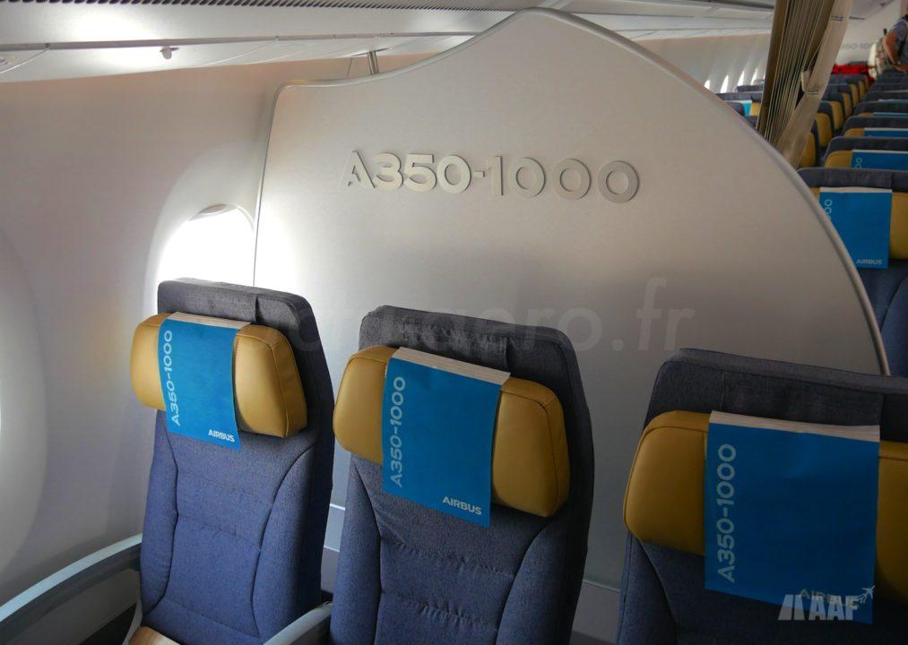 Cabine Airbus A350-1000 MSN065