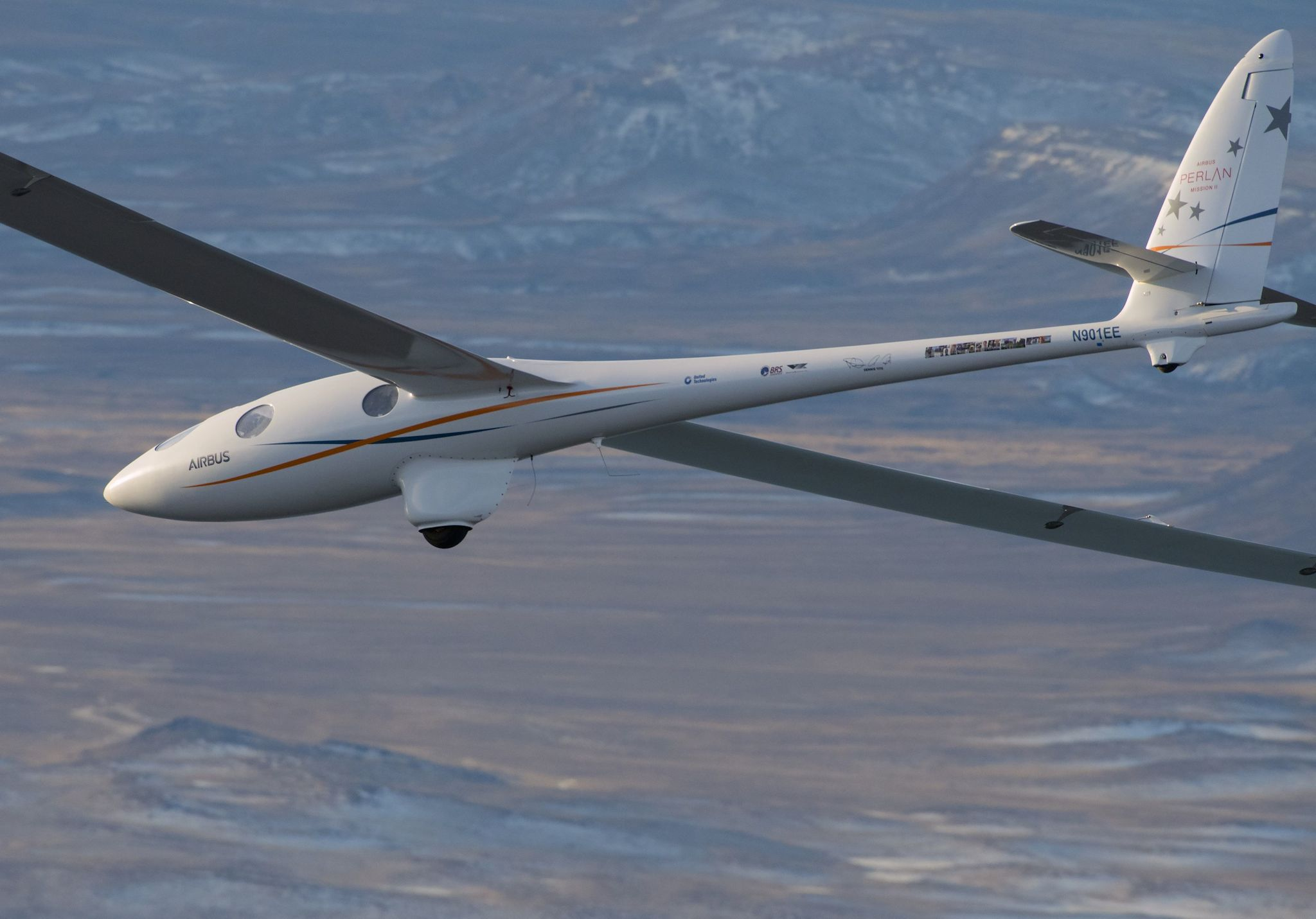 Planeur stratosphérique Perlan Mission II