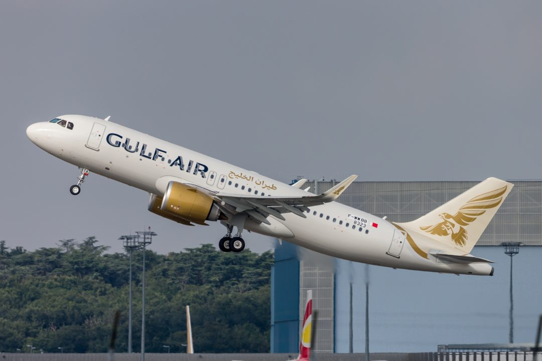 Gulf Air A320neo / 1st A320 Neo for Gulf Air in its new colours
