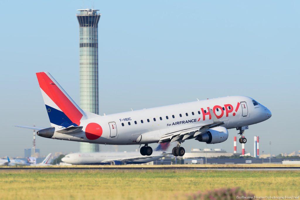 [B-HBXC] Embraer 170 HOP! Air France