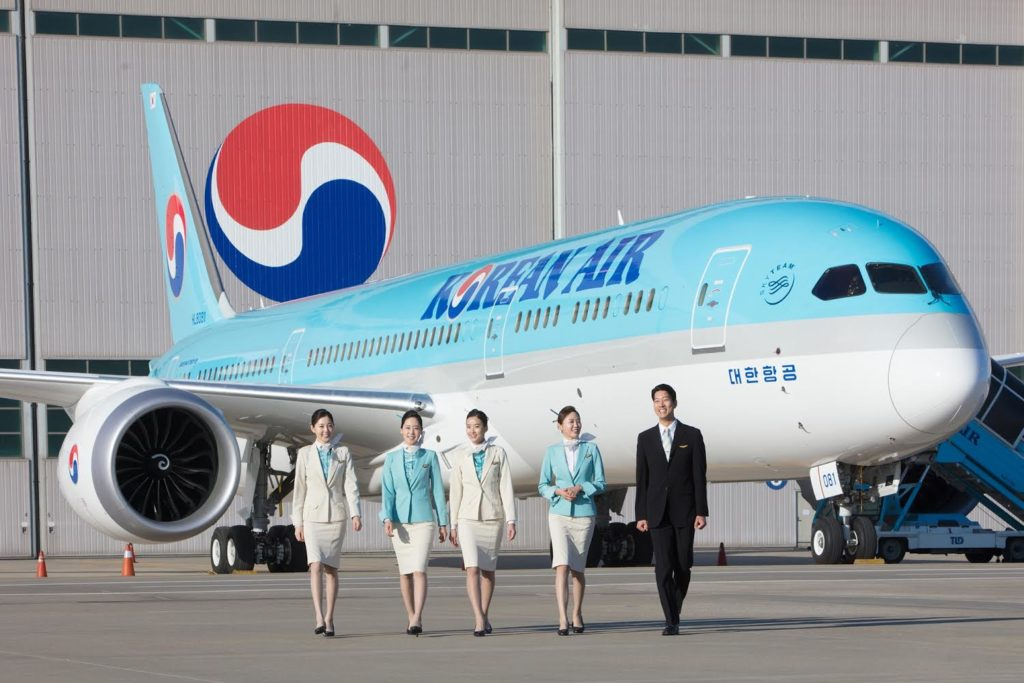 Boeing 787 Korean Air