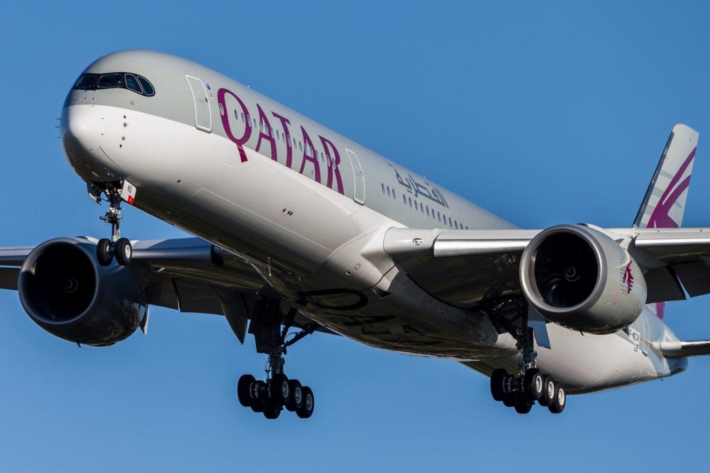1er A350-1000 commercial destiné à Qatar Airways F-WZNR / MSN 088 / A7-ANA
