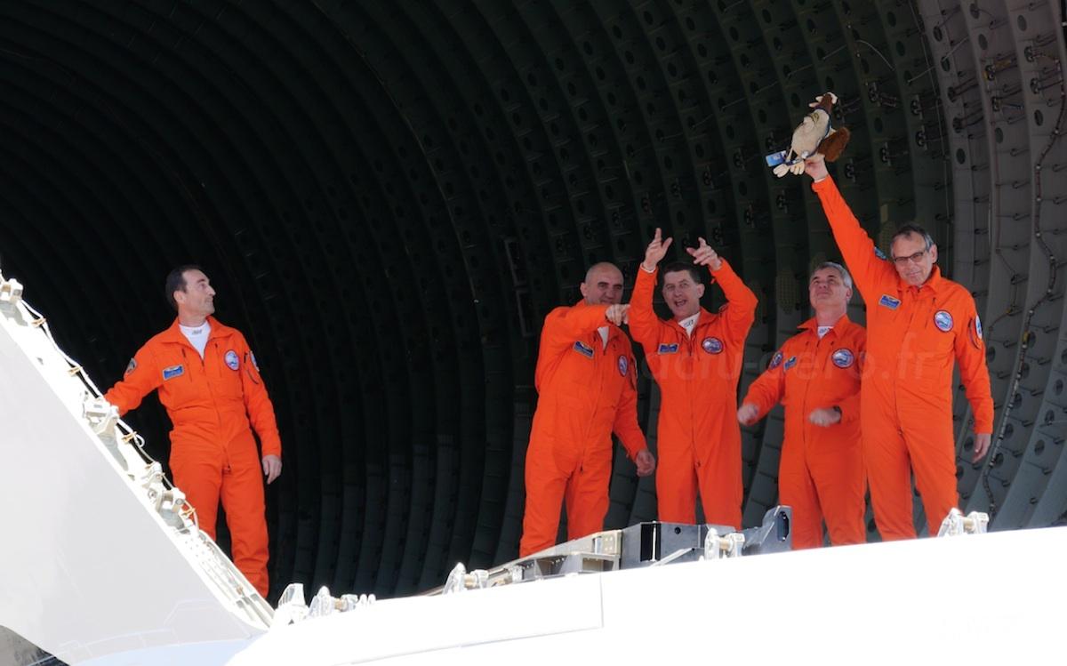 Rocky LECOQ « Flight Test Specialist » et mascotte des Essais en vol Airbus