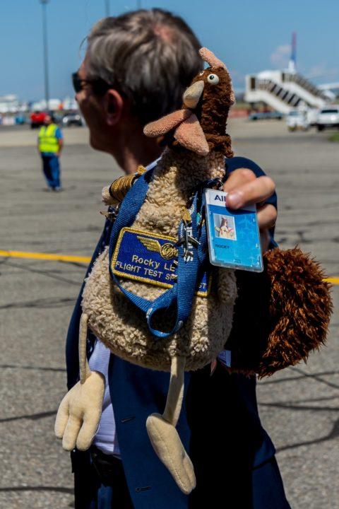 Rocky LECOQ « Flight Test Specialist » de retour du 1er vol du BelugaXL
