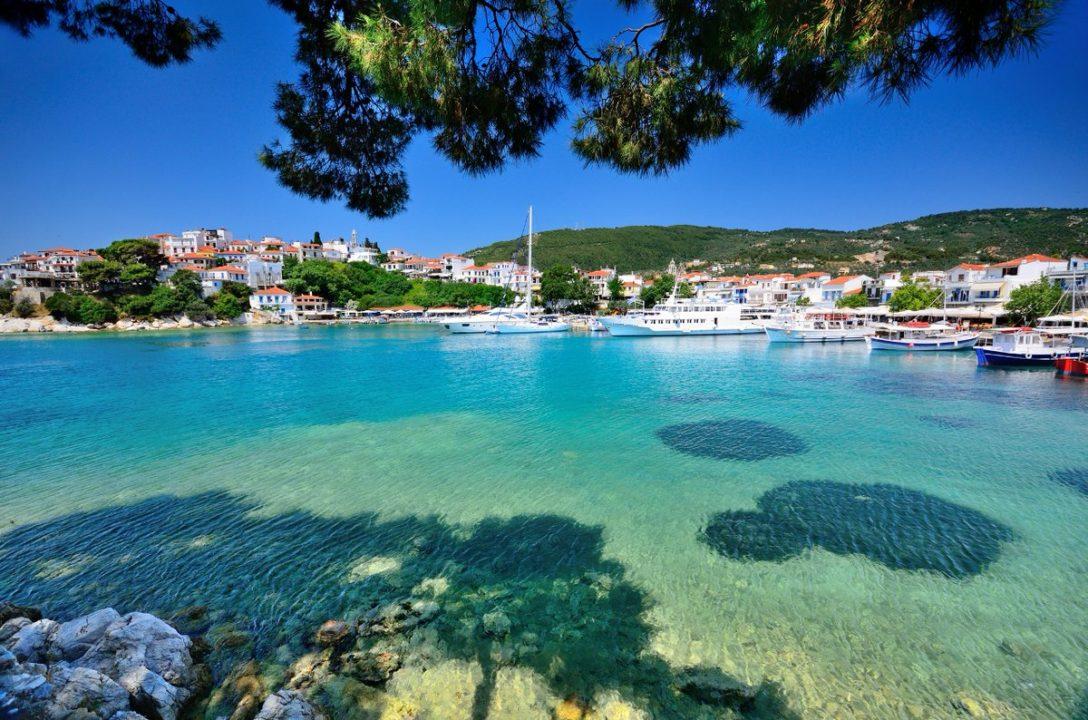 Skiathos : île grecque de la mer Égée