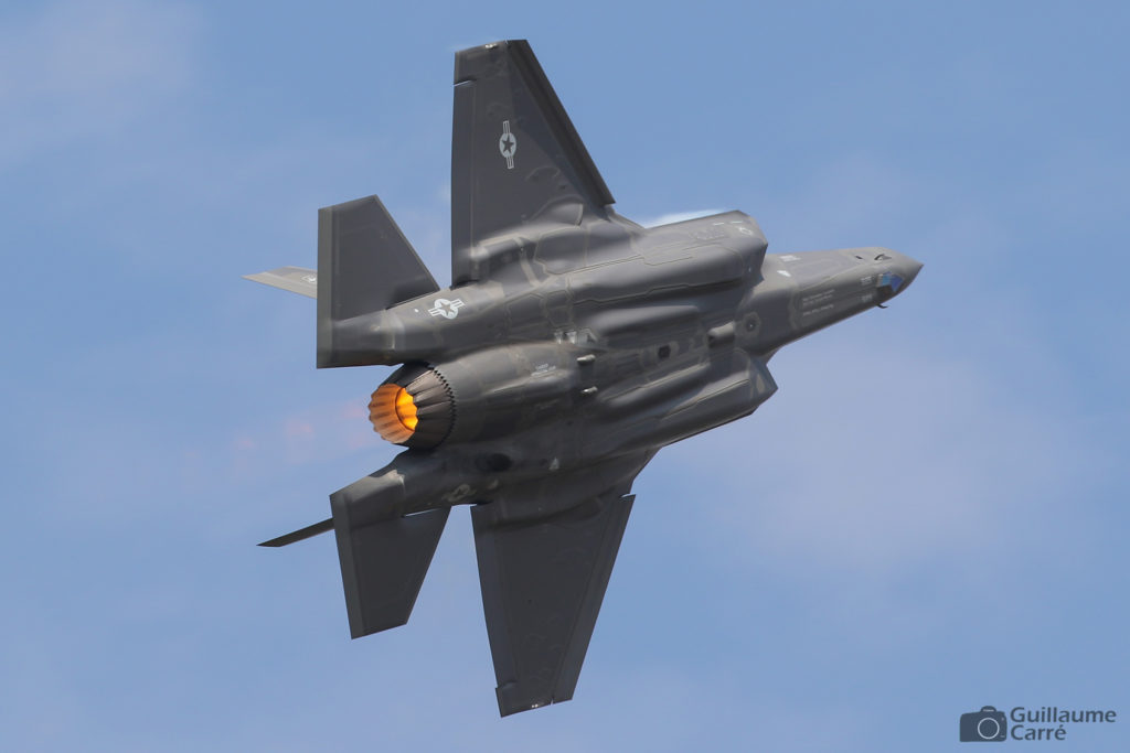 F-35A Lightning II at The Royal International Air Tattoo 2018