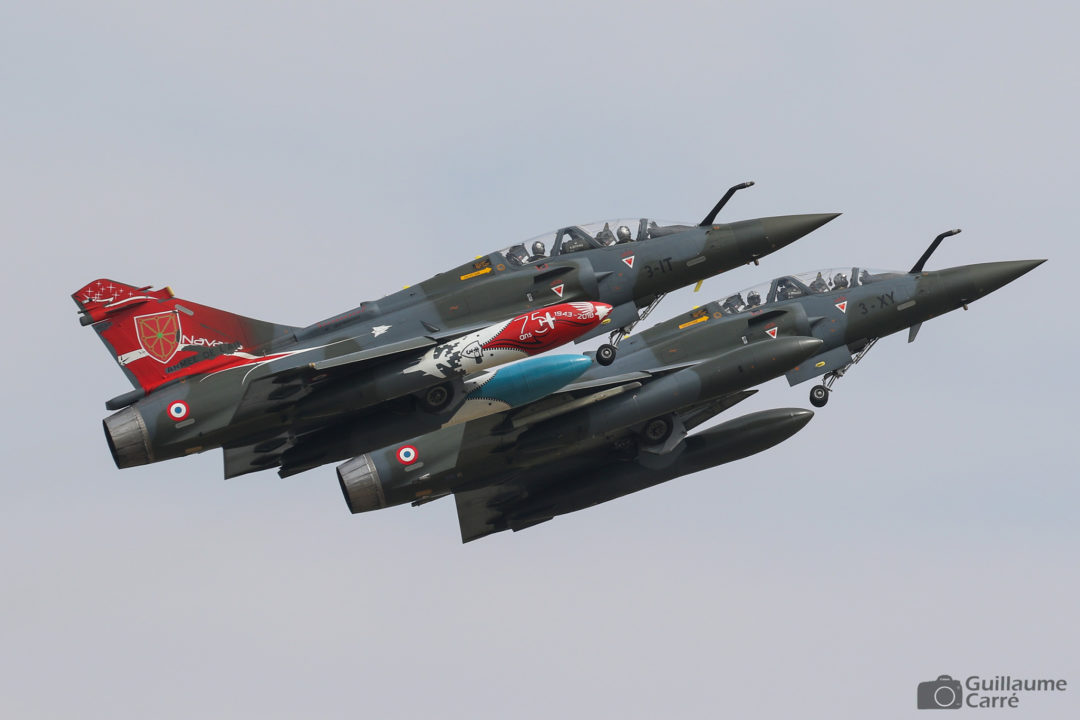 "Mirage 2000D de la patrouille des ""couteau delta"" at The Royal International Air Tattoo 2018"
