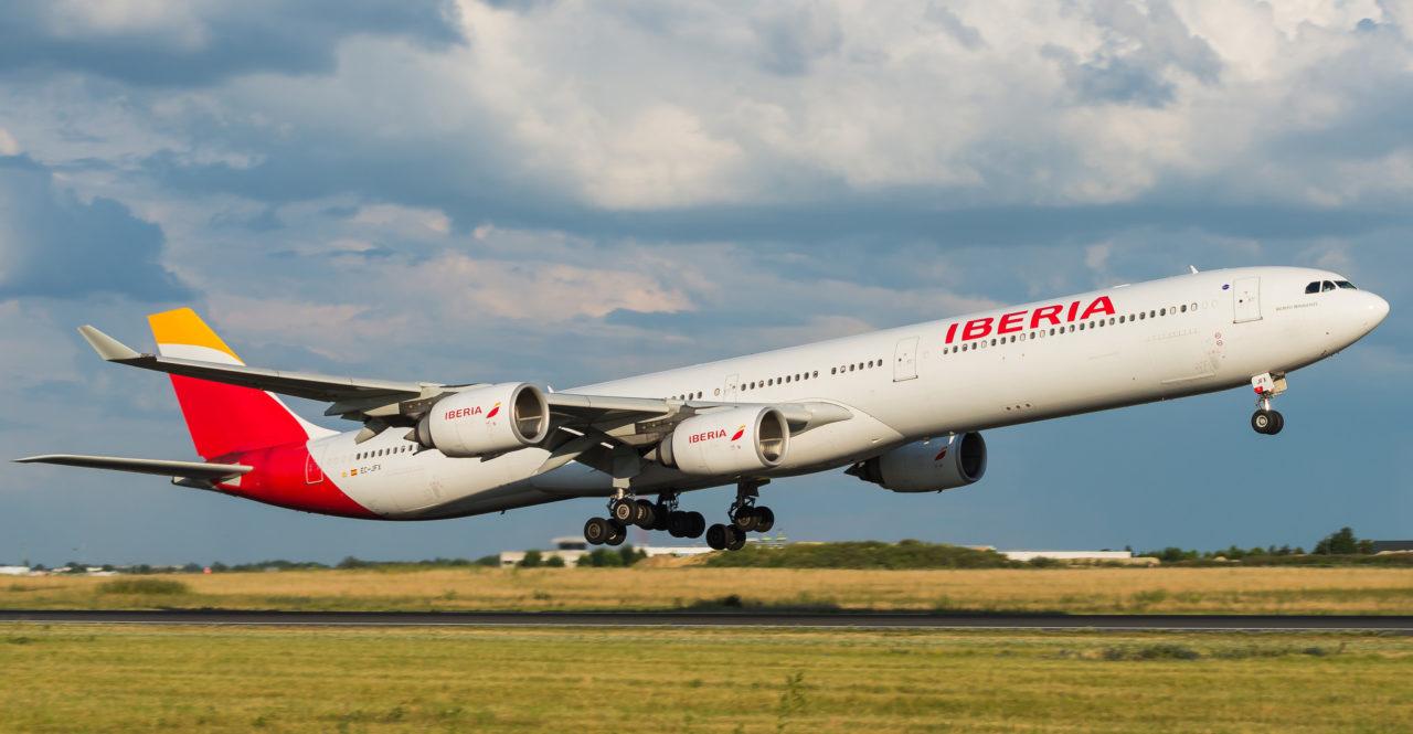 Airbus A340-642 Iberia EC-JFX
