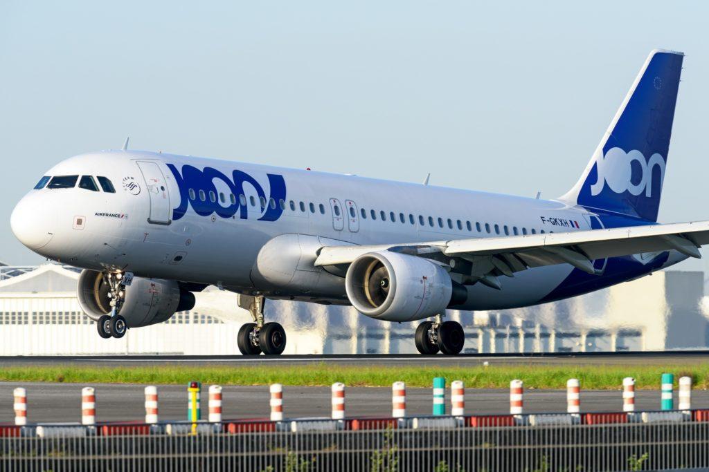 F-GKXH JOON Airbus A320-200