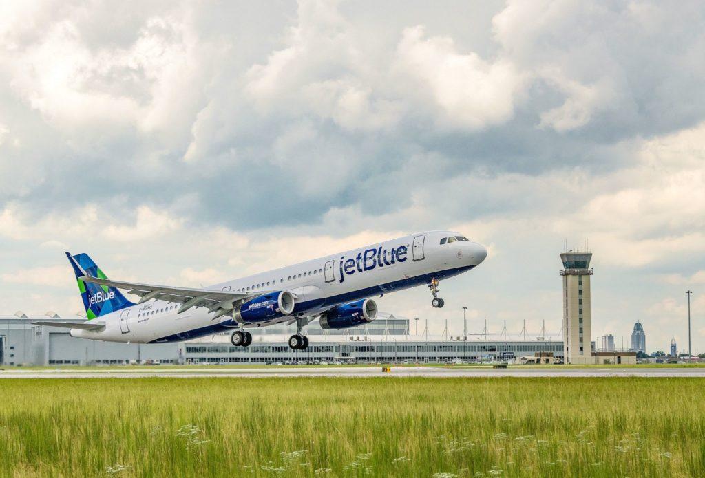 1er A321 JetBlue avec un mix de biocarburant