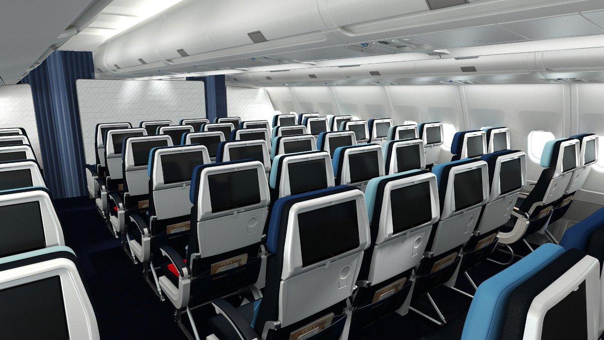 Nouvelle cabine Air France Eco des A330 rénovés