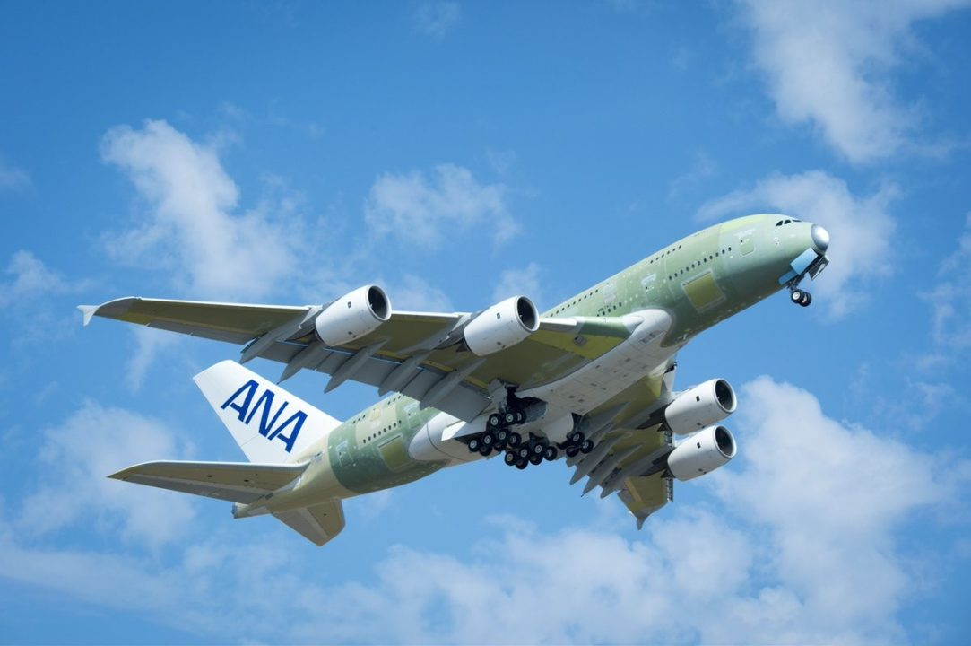 Airbus A380-841 F-WWSH msn 262 - 1er A380 destiné à ANA