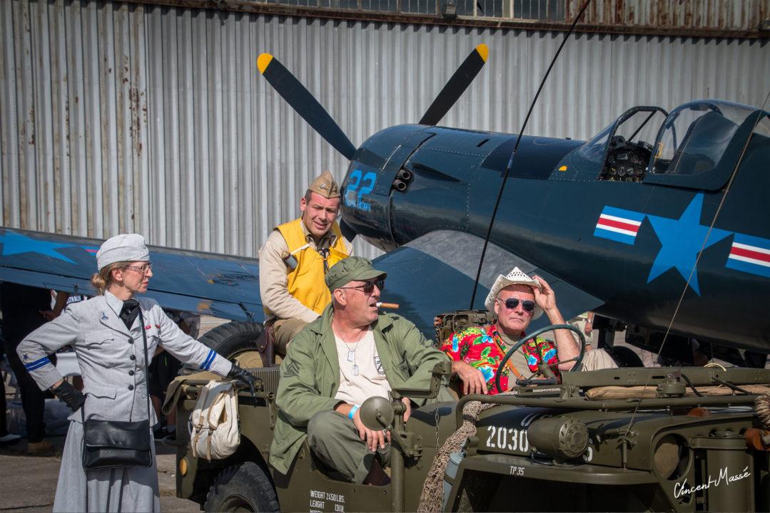Baa Baa Black Sheep avec le Vought F4U-5NL Corsair