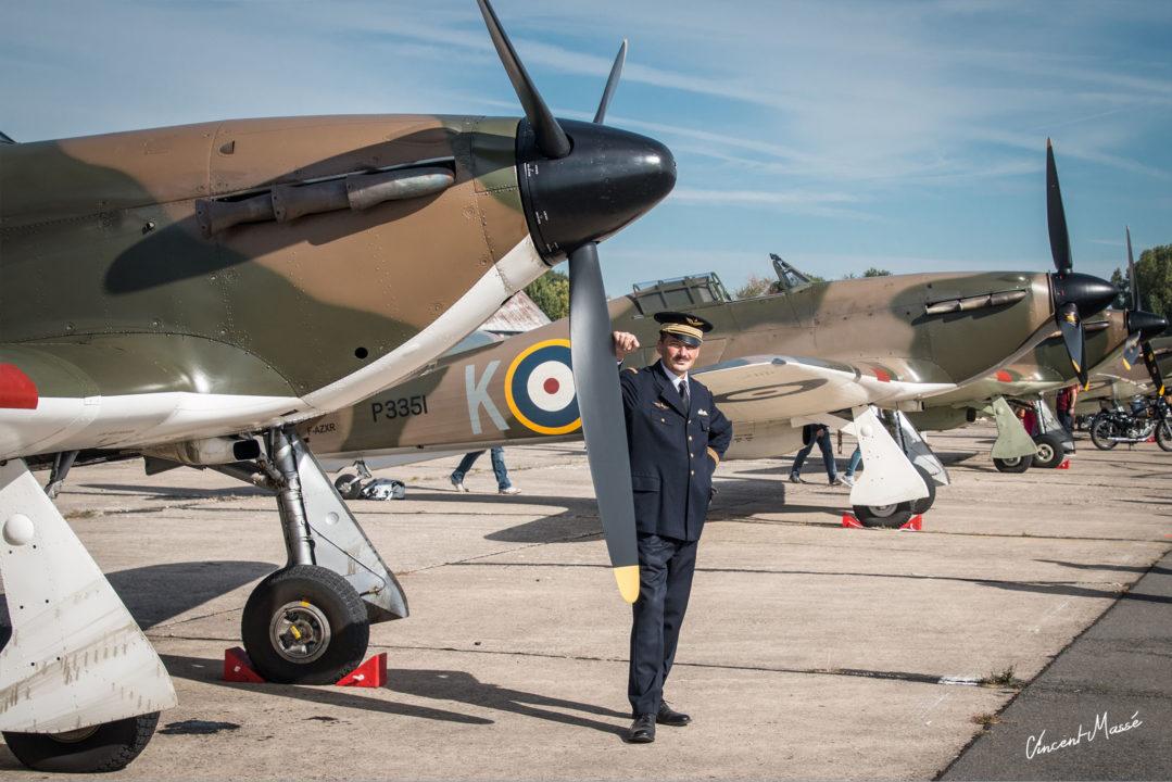 Royal Air Force en Hawker hurricane et supermarine spitfire
