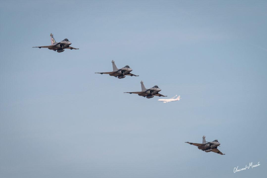 Patrouille Dassault Rafale M - Marine Nationale