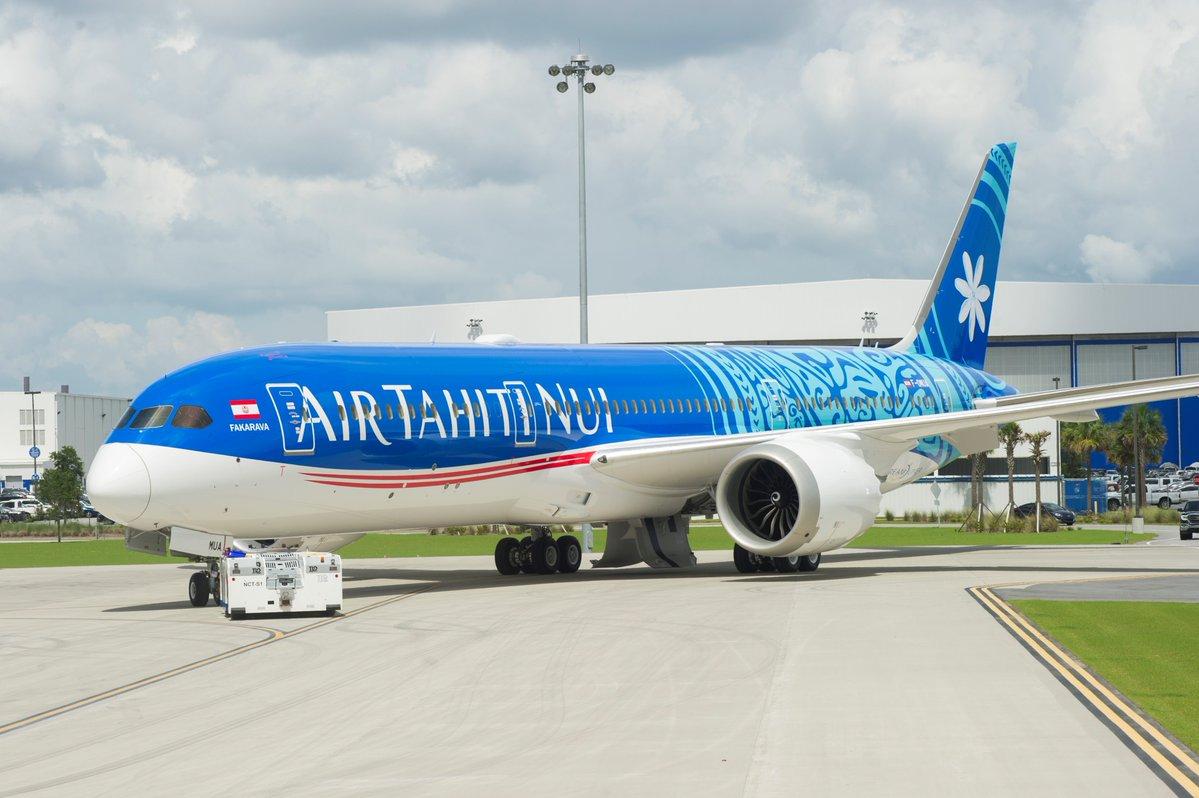 Boeing 787-9 Air Tahiti Nui F-OMUA Fakarava