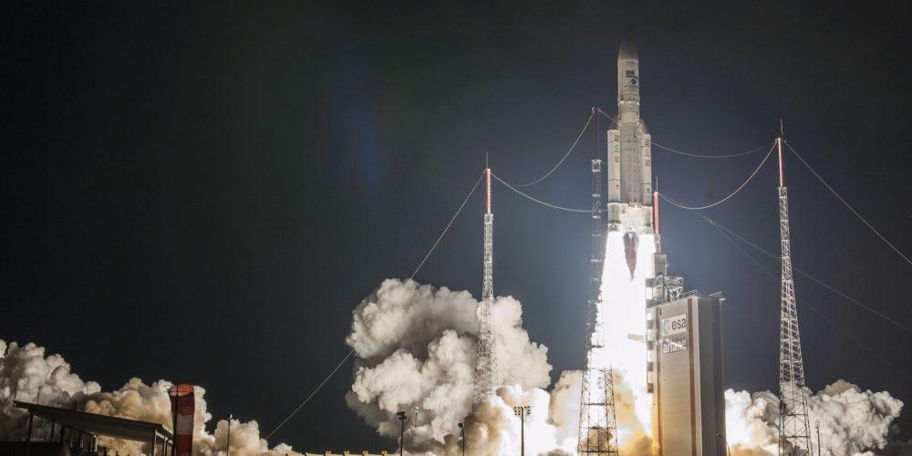 Décollage d'Ariane 5 le 25 septembre 2018 pour son 100e lancement