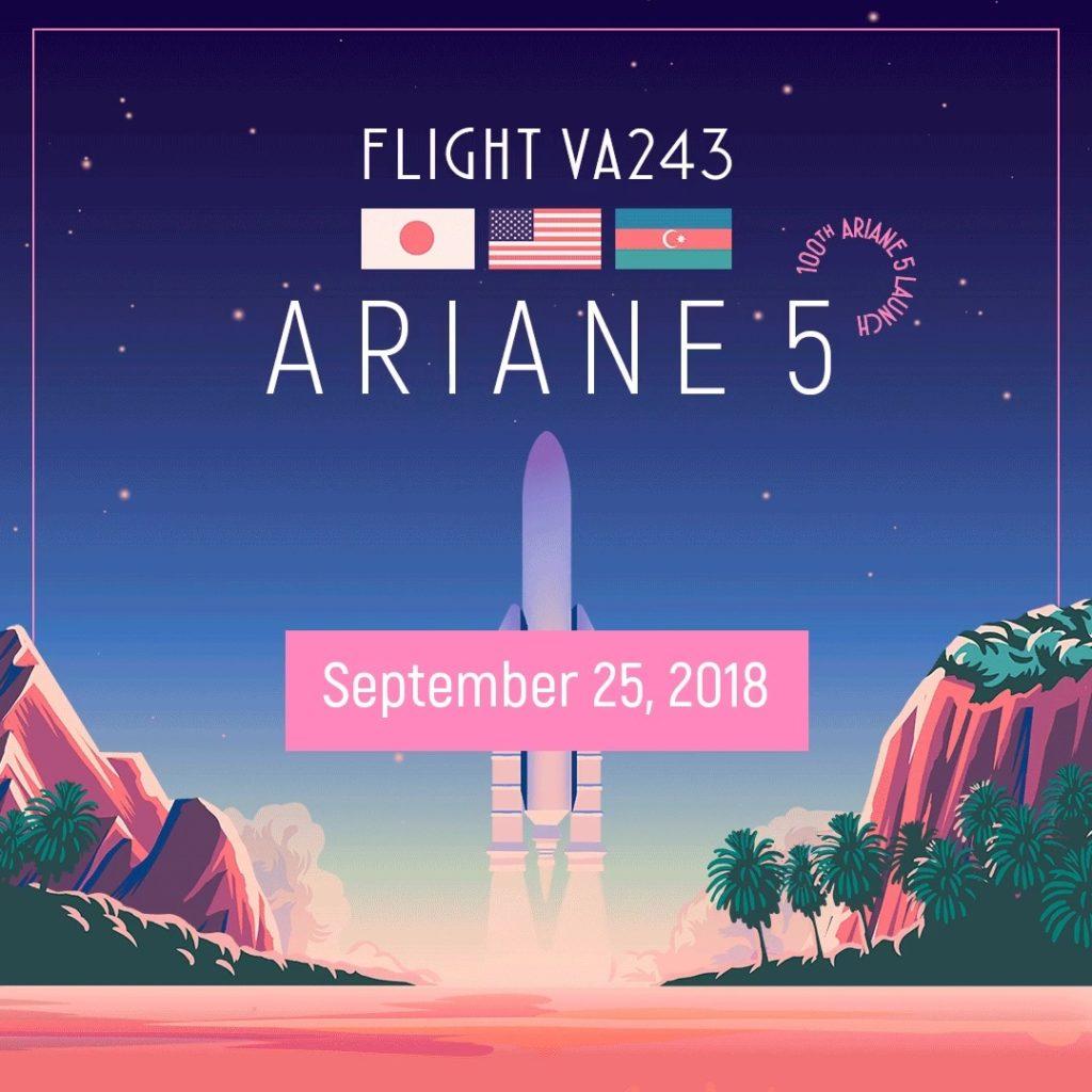 Vol Ariane 243