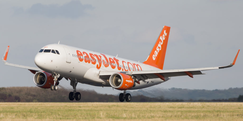 Airbus A320 EasyJet G-EZWY
