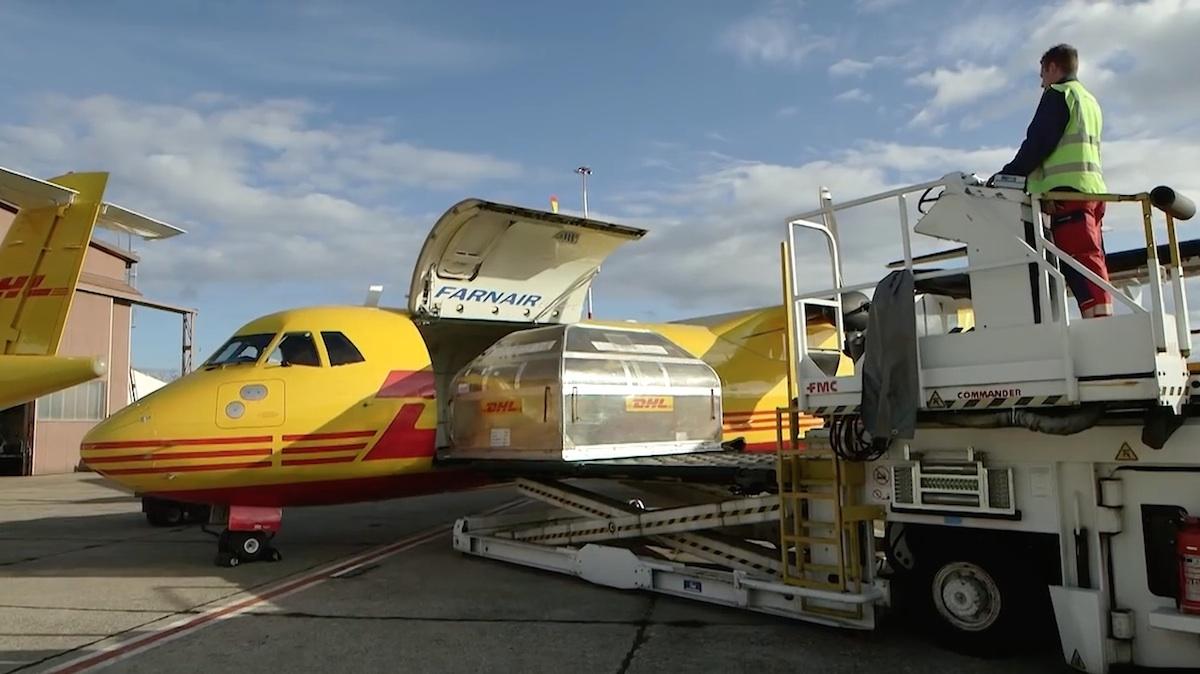 Large Porte Cargo d'IPR Conversions sur ATR72