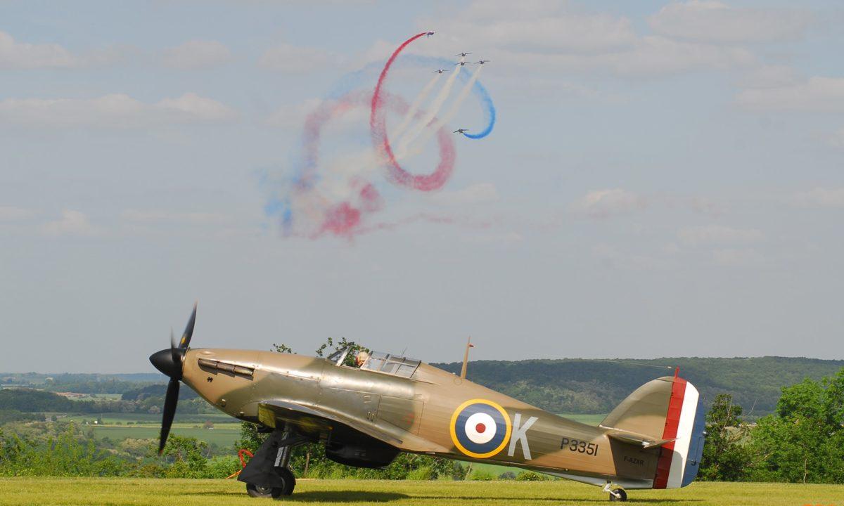 Hawker Hurricane et Patrouille de France