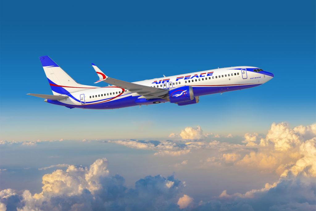 Boeing 737 MAX 8 Air Peace