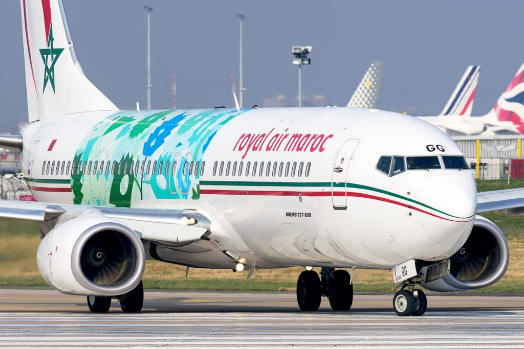 Boeing 737-800 Royal Air Maroc